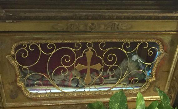 Reliquie di San Fedele, chiesa parrocchiale di San Pietro, Lodi Vecchio